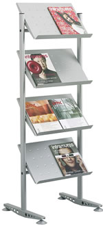 Literature display Stand V4 PR