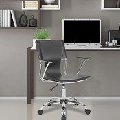 Home Office Chair Sienna Black or White