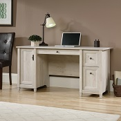 Home Office Computer Desk Chalk Wood
