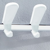 Coat rail 523 White