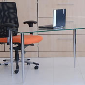 Glass Computer Desks Jersey