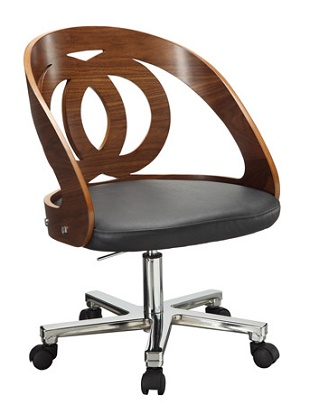 Office Chair Forme 06 Walnut