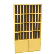 36 Post Hole Unit With Cupboard GO