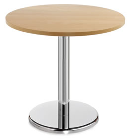 Cafe / Breakout / Meeting Table Prime Round 600 Beech