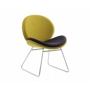 Reception Chair Wiggle Sledge Base