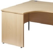 Ergonomic Office Desk Left Hand 25WEL16