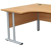 Ergonomic Office Desk Delite 1600