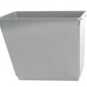 Office Recycling Bin 30 Litre Grey