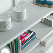 Sienna Shelving White