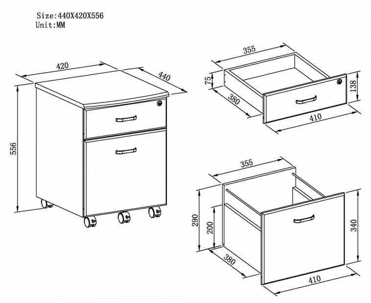 Office Desk Pedestals Office Storage Office Furniture Uk