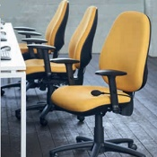 Jersey Extra High Back Fast Track Office Chair