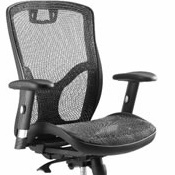 Mesh Chair Move Black Without Head Rest