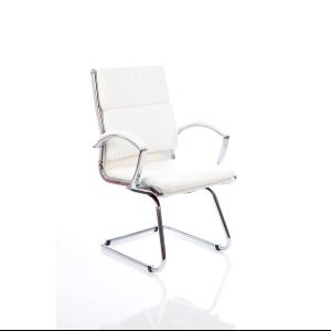 Visitor Chair Classe White