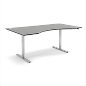 Sit - Stand Height Adjustable Wave Desk Energy 2000 x 800mm