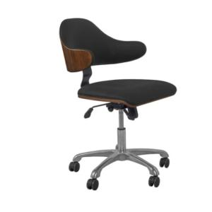 Home Office Chair Walnut/Black Up Town 2