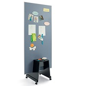 Agile Notice Board Single With Kart