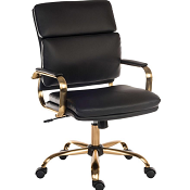 Executive Office Chair Brass