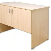 Post Room Table With Cupboard T Range
