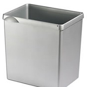 Recycling Waste Bin Silver T10