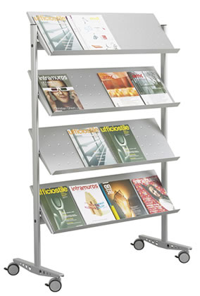 Literature display Stand V4 GR