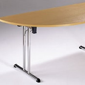 Deluxe Semi - Circular Meeting Table F5
