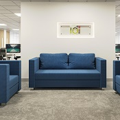 Reception Sofa Twin Diamond