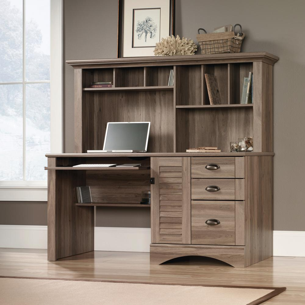 Stylish Home Office Desk With Hutch. Office Furniture