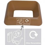 Office Recycling Bin Q Graphic Other Recylables