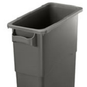 Office Recycling Bin Ecco 60 Litre Grey