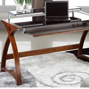Forme Computer Desks Walnut