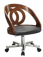 Office walnut chair