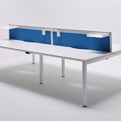 Four Person Bench Desk Easy