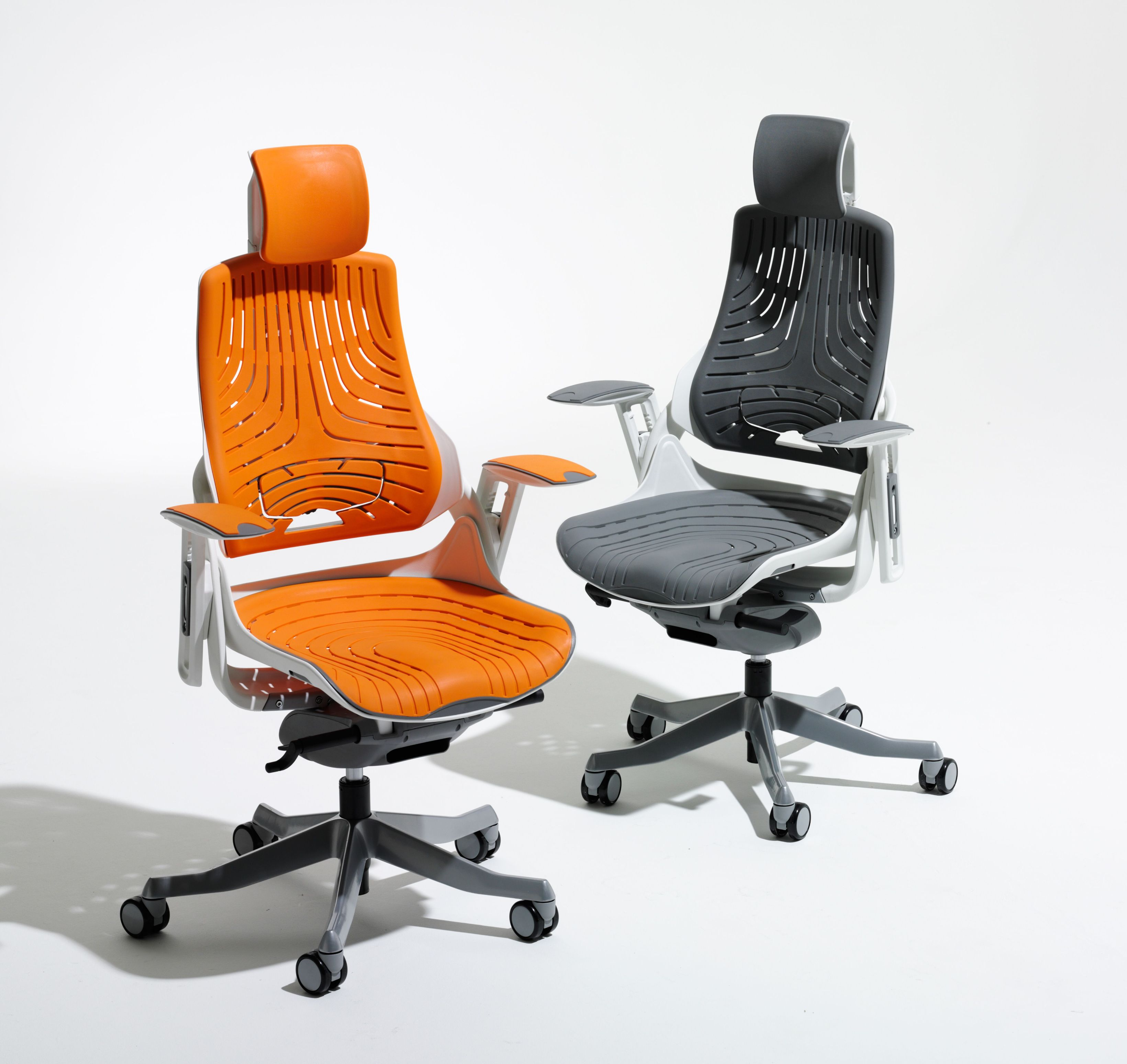 elastomer office chairs orange mesh chair office chairs uk. Black Bedroom Furniture Sets. Home Design Ideas