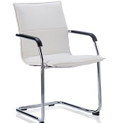 Boardroom / Visitor Chair Bay White