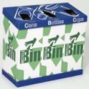 Cardboard Recycling Bins Vending